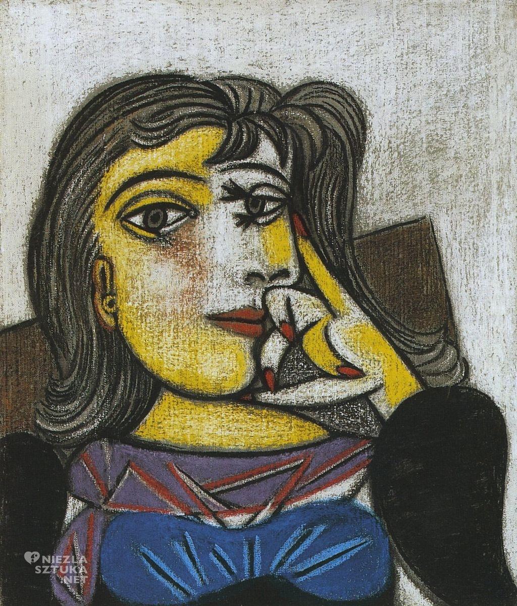 Pablo Picasso, Portret Dory Maar, kubizm, Niezła Sztuka