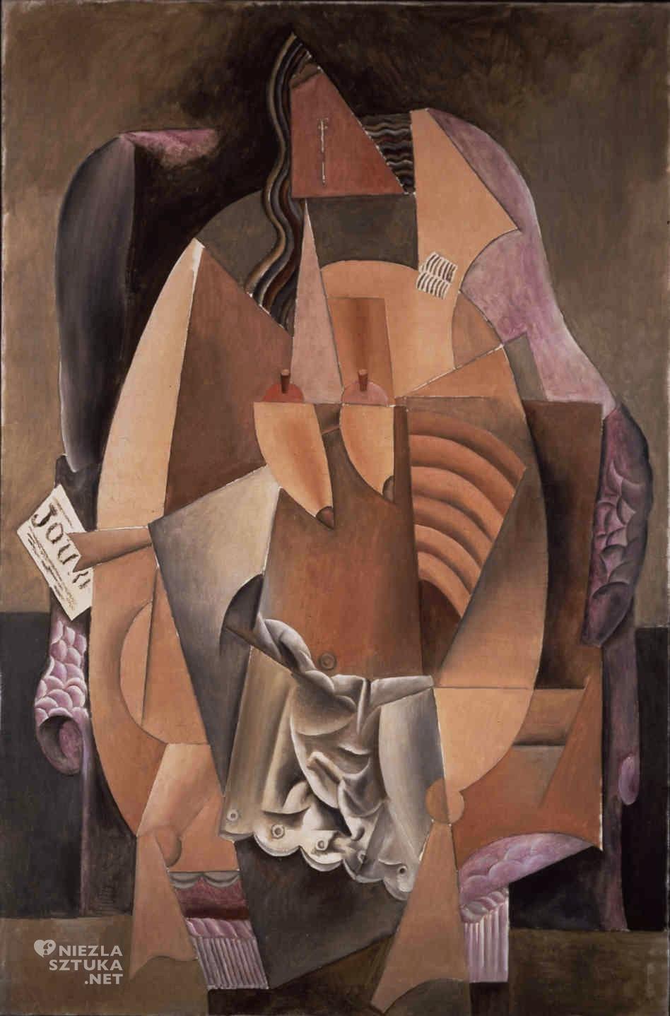 Pablo Picasso, Kobieta w koszuli na fotelu, kubizm, Niezła Sztuk