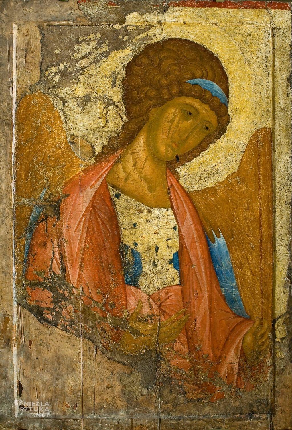 Andriej Rublow Archanioł Michał, początek XV