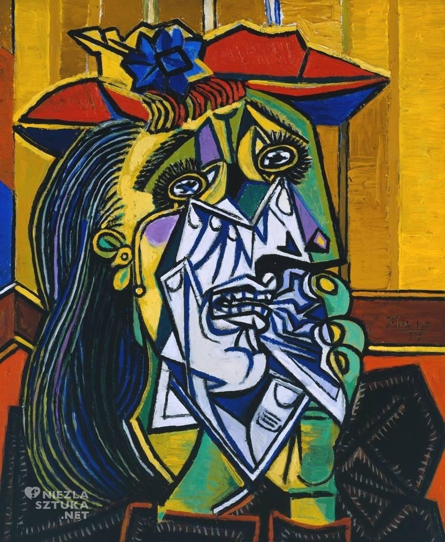 Pablo Picasso, Płacząca kobieta, kubizm, kobiety Picassa, Niezła Sztuka