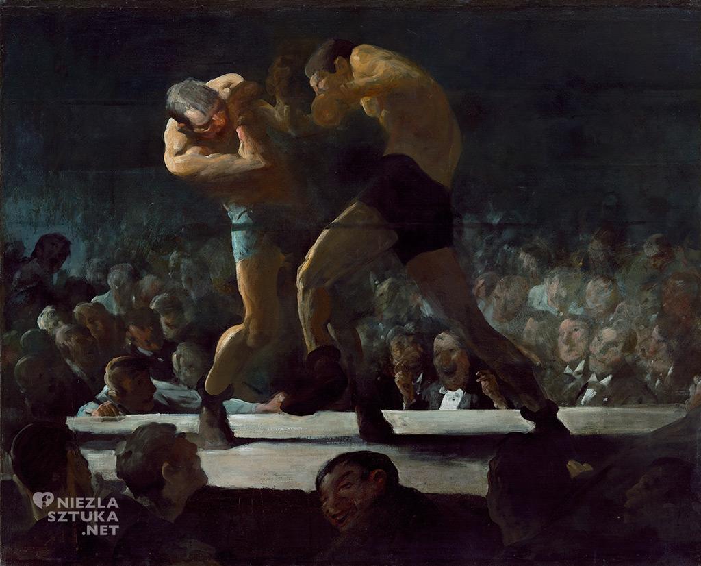 George Bellows, <em>Club Night</em>, 1907