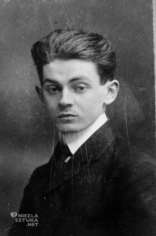 Portrait of Egon Schiele, 1908 © Private Collection, Photograph: anonymous, Leopold Museum