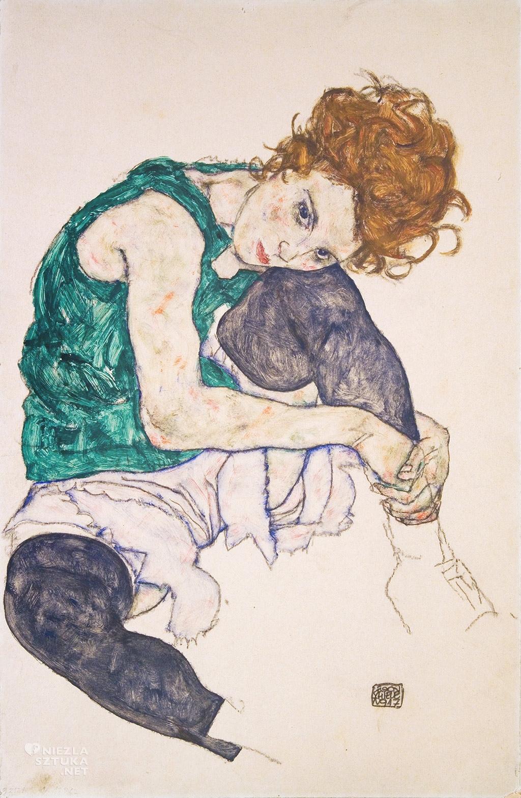 Egon Schiele, Adele Herms, Niezła sztuka