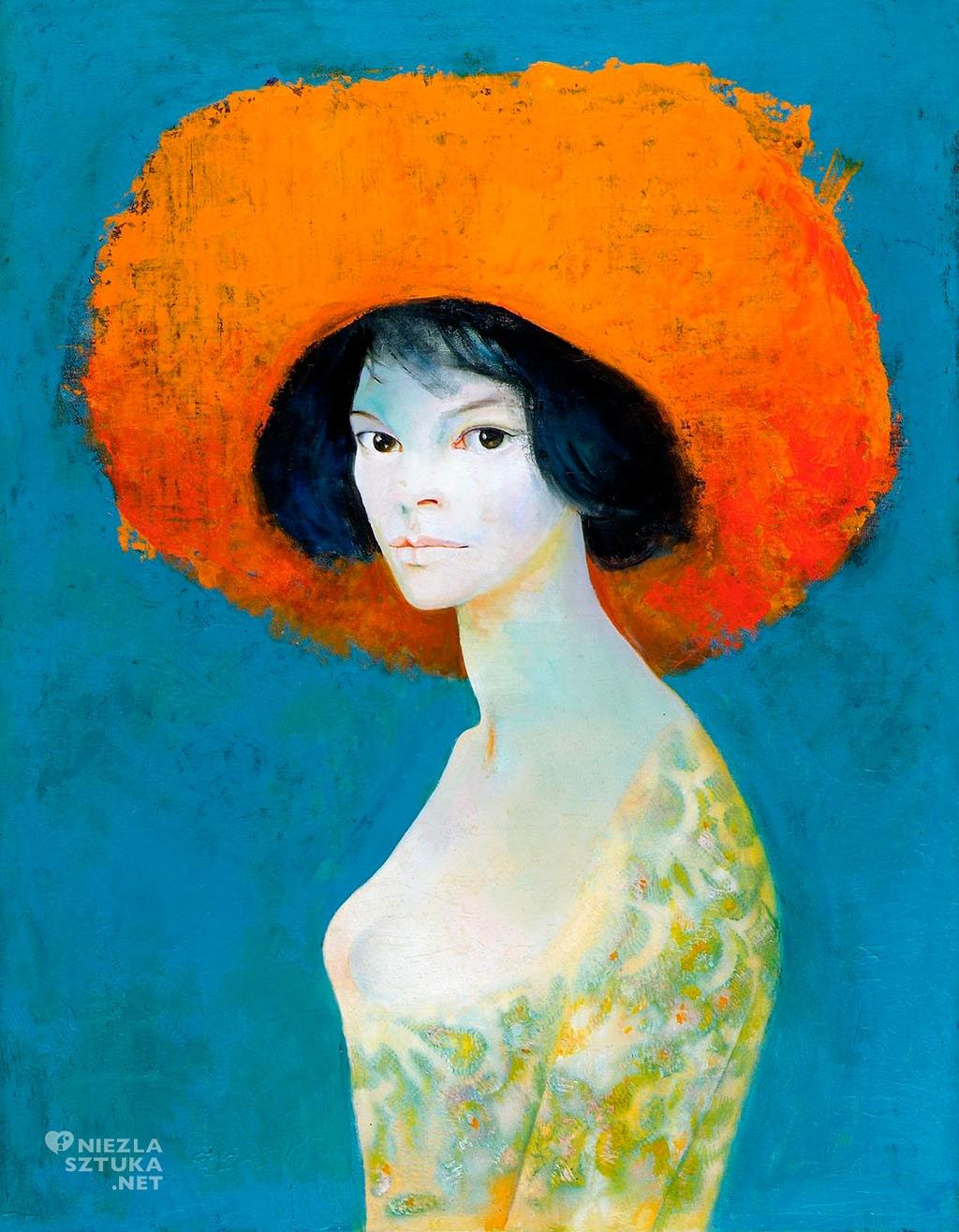 Leonor Fini, Autoportret, 1986.