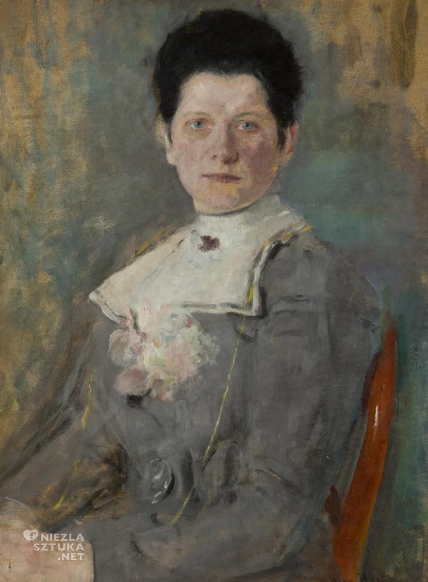 Olga Boznańska, Portret Heleny Kurpiel-Łękawskiej,