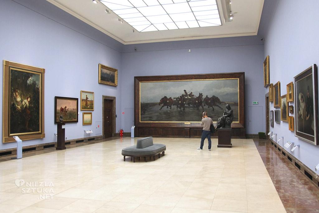 Józef Chełmoński, Czwórka, Muzeum Narodowe w Krakowie, sztuka polska, polskie muzea, Niezła Sztuka