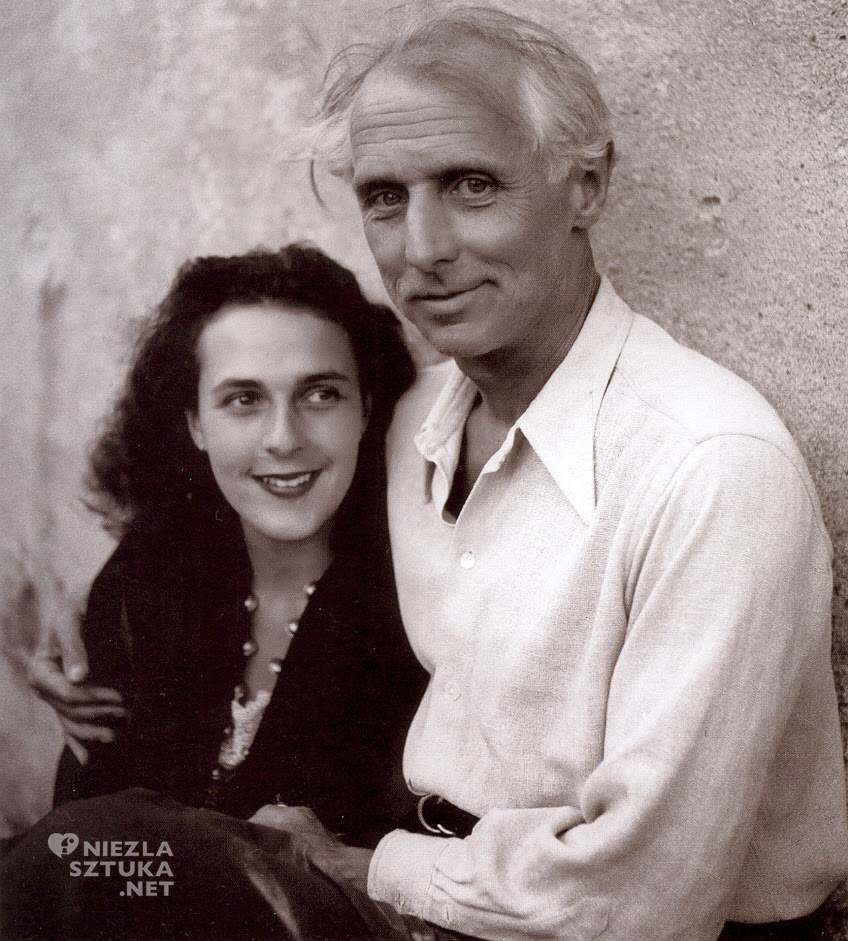 Leonora-Carrington i Max Ernst w obiektywie Lee Miller, Francja 1939, fot.: artribune.com