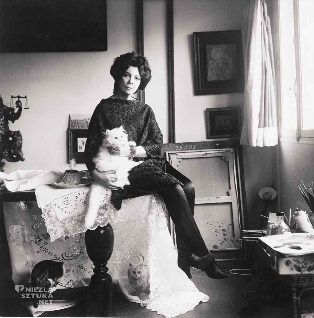 Cecil Beaton Leonor Fini w jej studio , 1961, fot. redlist