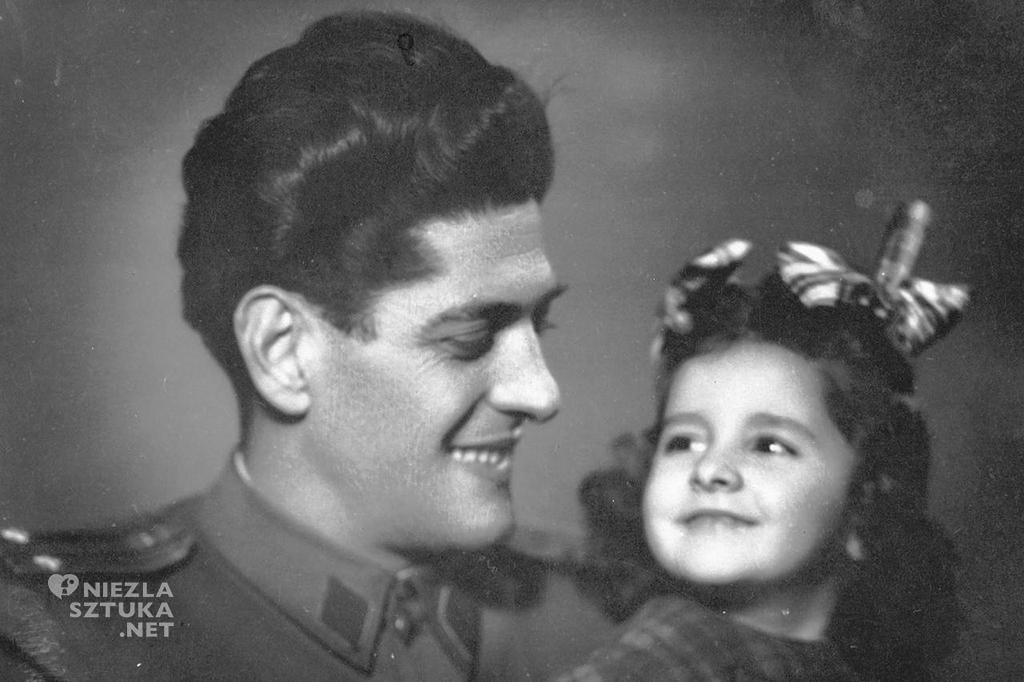 MArina Abramović z ojcem, zdjęcie pochodzi z prywatnych zbiorów artystki
