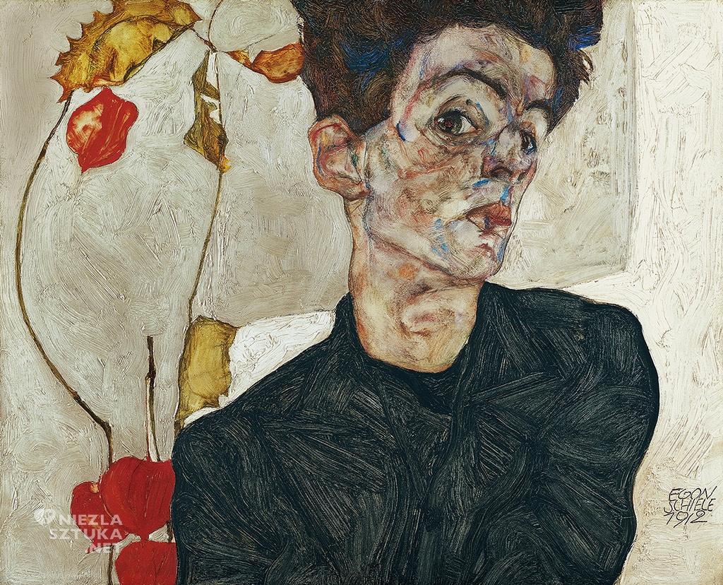Egon Schiele, autoportret, niezła sztuka