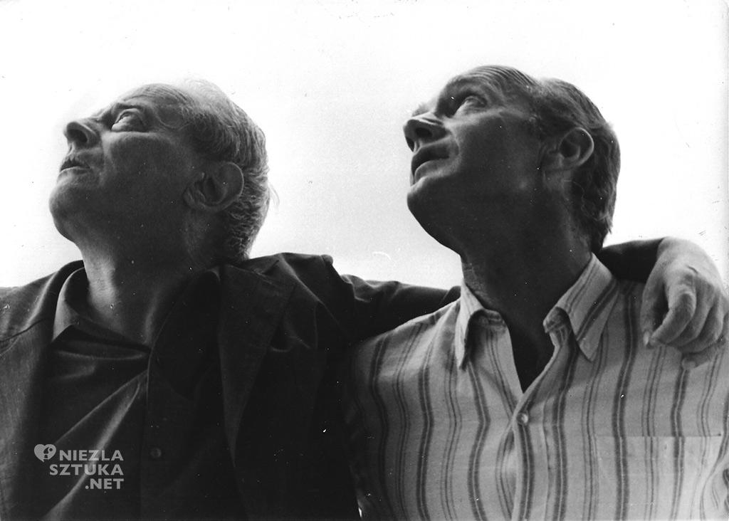 Witold Gombrowicz, Konstanty A. Jeleński, Vence, 1968 (fot. B. Paczowski), www.wojciechkarpinski.com