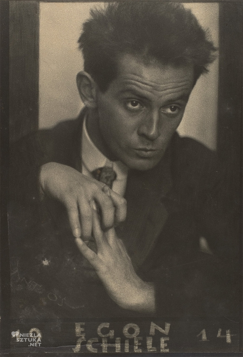 Egon Schiele, fotografia, Niezła sztuka