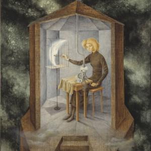 Remedios Varo, Celestial Pablum, surrealizm, kobiety w sztuce, Niezła Sztuka