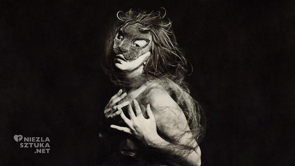 Leonor Fini w masce, fot. Weinstein gallery