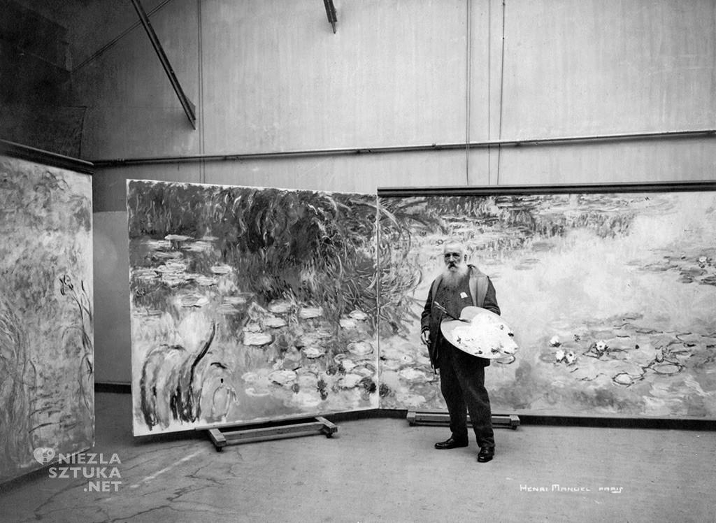 Claude Monet w swoim studio