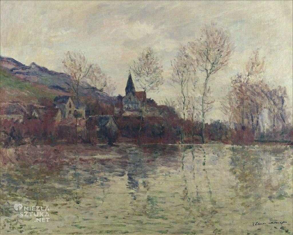 Powódź w Giverny, 1886