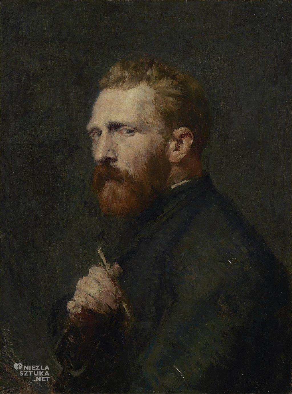 Portret Vincenta van Gogha pędzla Johna Petera Russell'a, 1886,