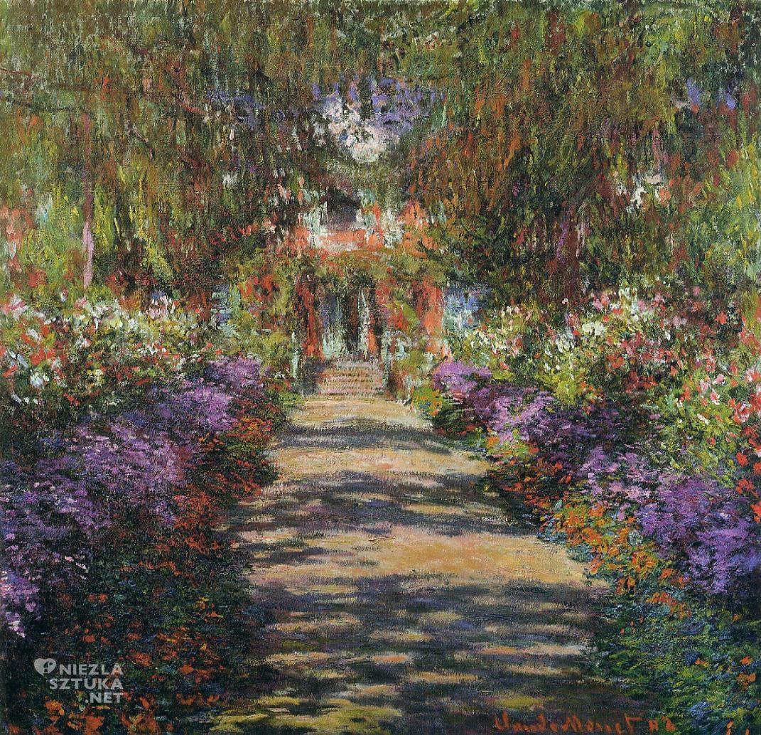 Ścieżka w ogrodzie Moneta w Giverny, 1901-02