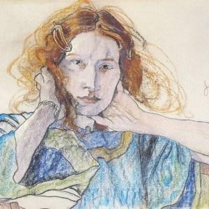 Stanisław Wyspiański, Portret Pani Solskiej, Irena Solska, portret, Niezła sztuka