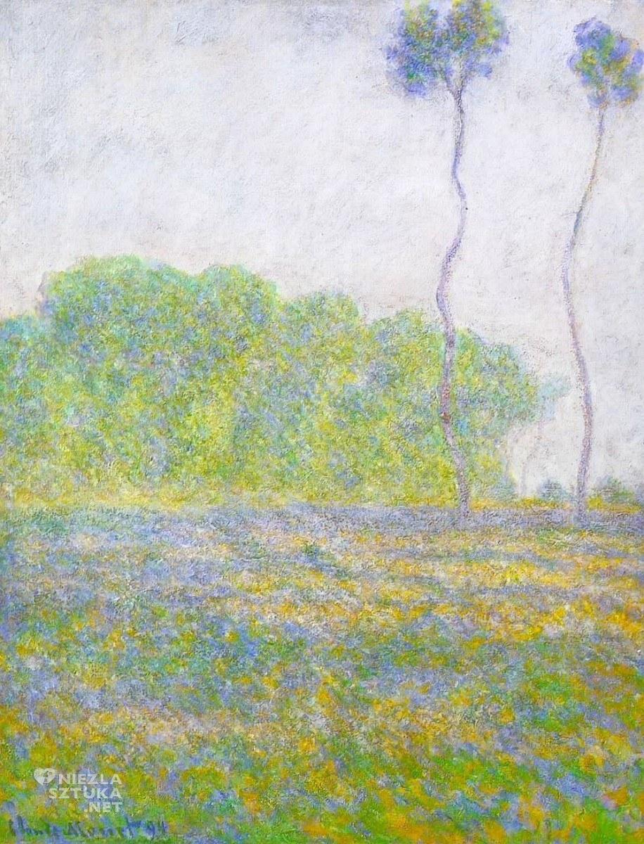Wiosna. Łąka w Giverny, 1894