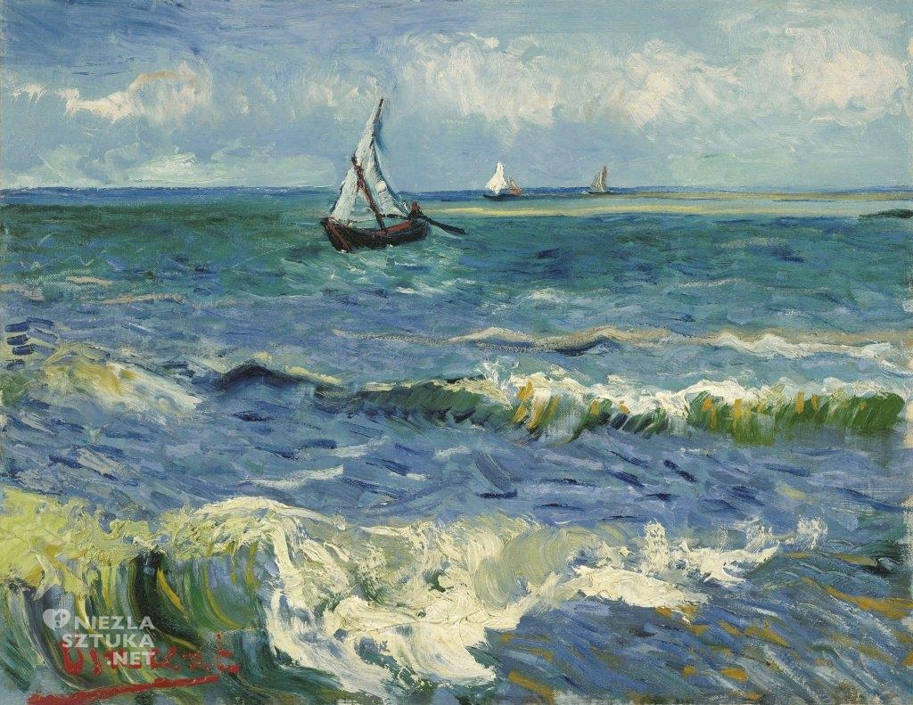 Vincent van Gogh Łodzie rybackie na morzu, 1888, fot.: vangoghmuseum.nl