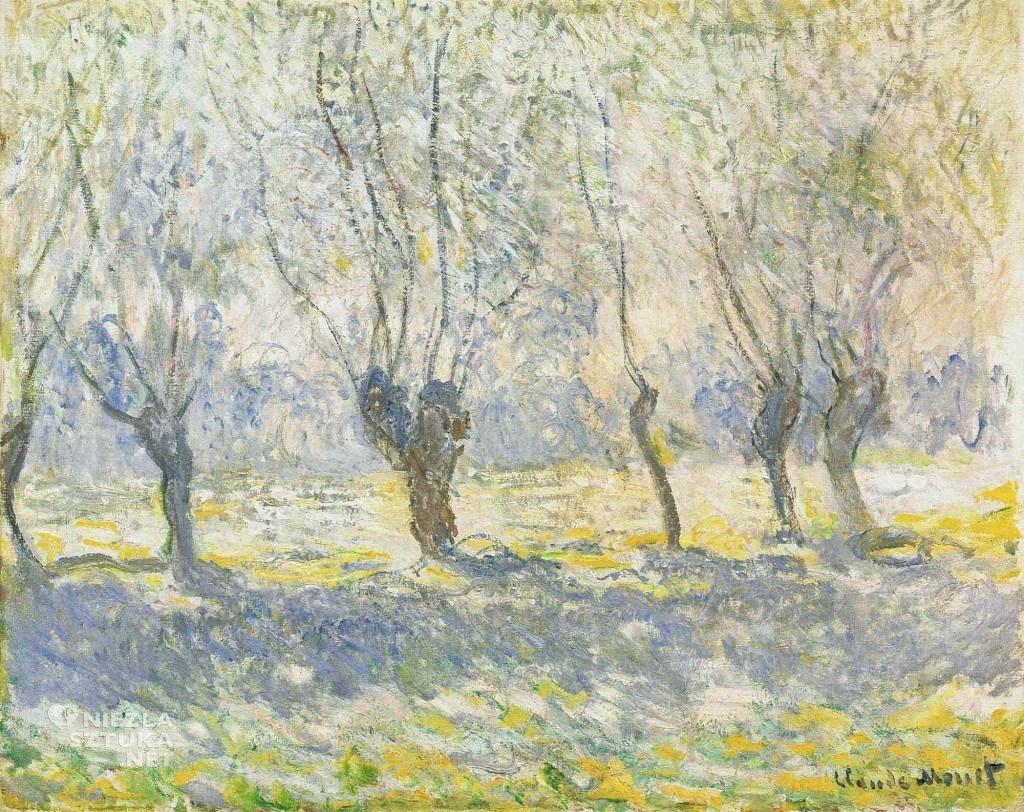Wierzby w Giverny, 1886
