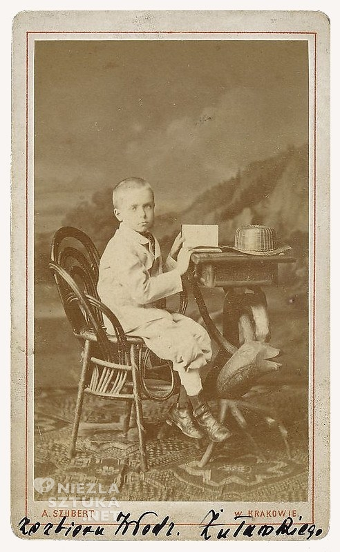 Wyspiański w wieku 8 lat, fot. Szubert Awit, mnw.pl
