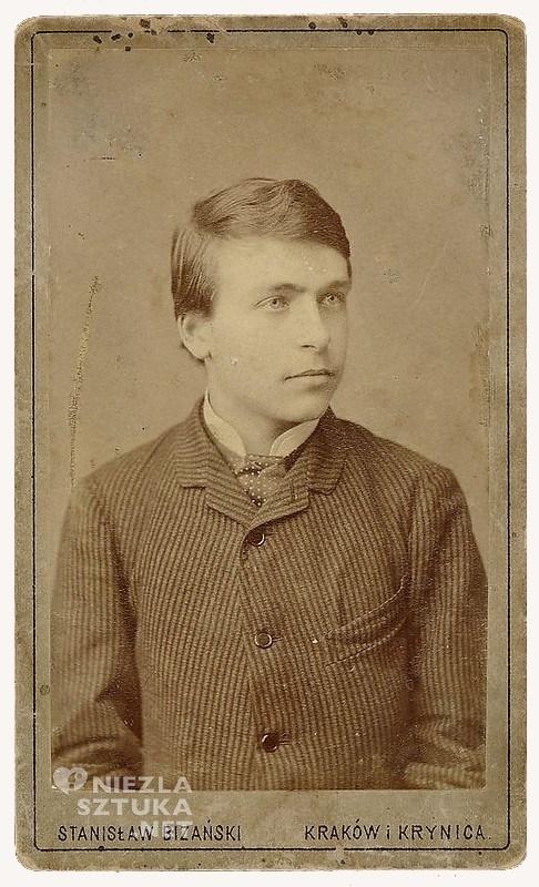 Wyspiański w wieku 18 lat, fot. Bizański Stanisław, mnw.pl