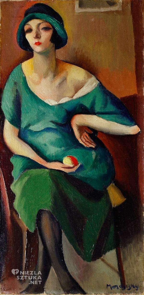 Maurycy Mędrzycki Kiki, 1921,