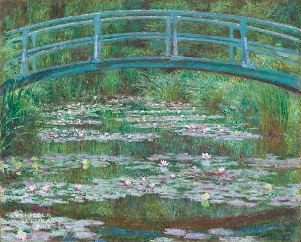 Claude Monet Japoński mostek, 1899, NGA Waszyngton