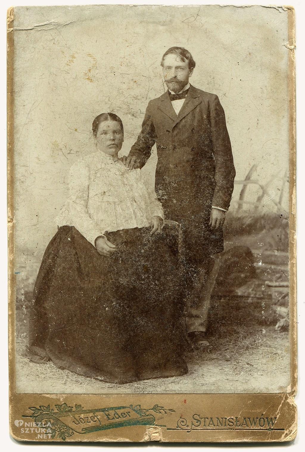 Stanisław Wyspiański z żoną, fot. Muzeum Literatury w Warszawie, Niezła sztuka
