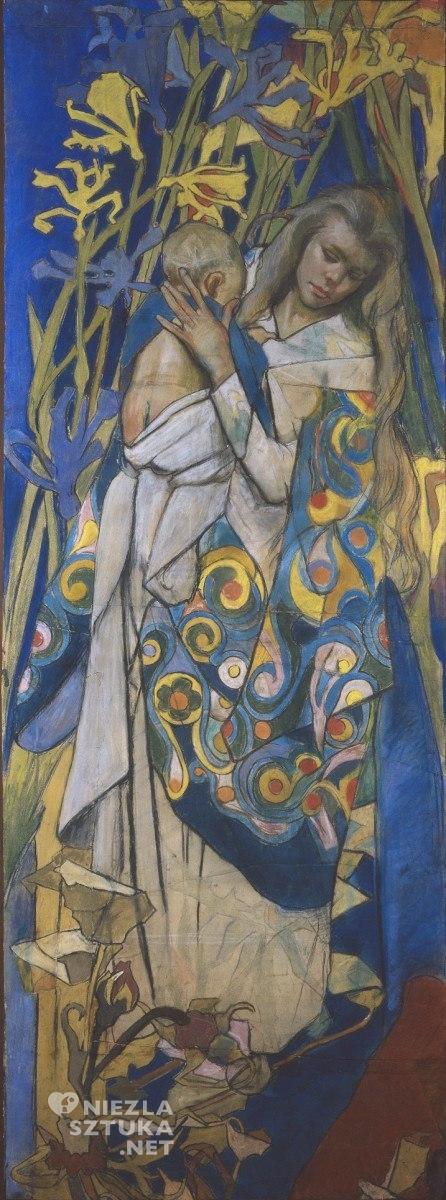 Stanisław Wyspiański Madonna z dzieciątkiem