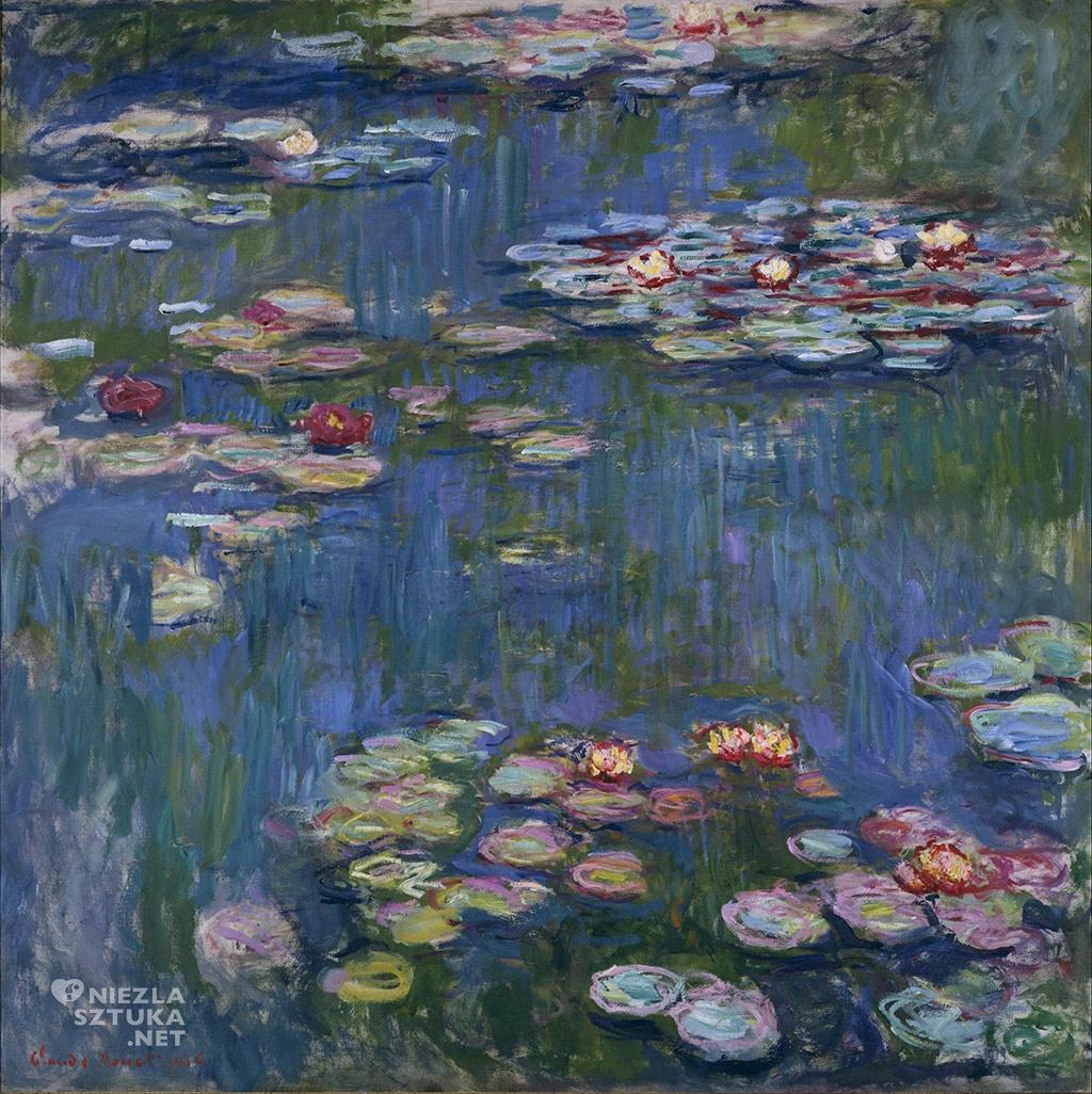 Claude Monet, Lilie wodne, 1914, National Museum of Western Art, Tokyo