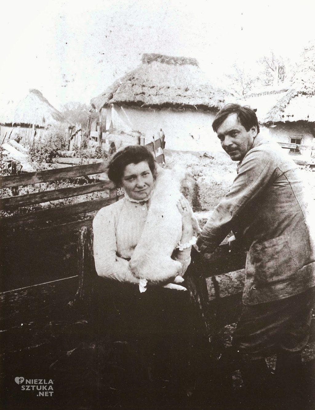 Michalina i Konrad Krzyżanowscy, Peremyl, przed 1914