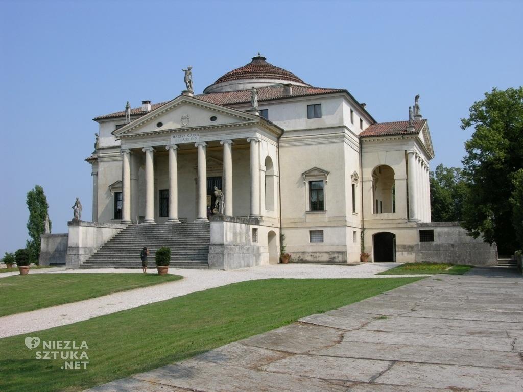 Andrea Palladio, Villa Almerico Capra zwana La Rotonda - widok ogólny, fot.: Bartłomiej Bartelmus