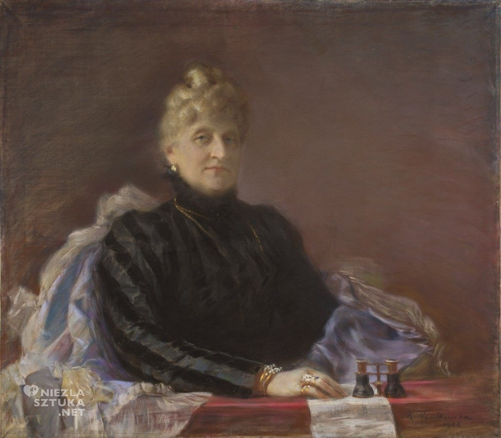 Maria Nostitz-Wasilkowska Portret Julii Wiemanowej | 1902, MNW