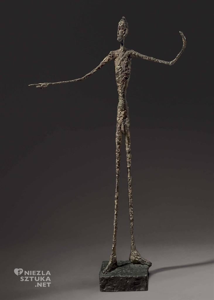Alberto Giacometti Wskazujący człowiek | 1947, christies.com