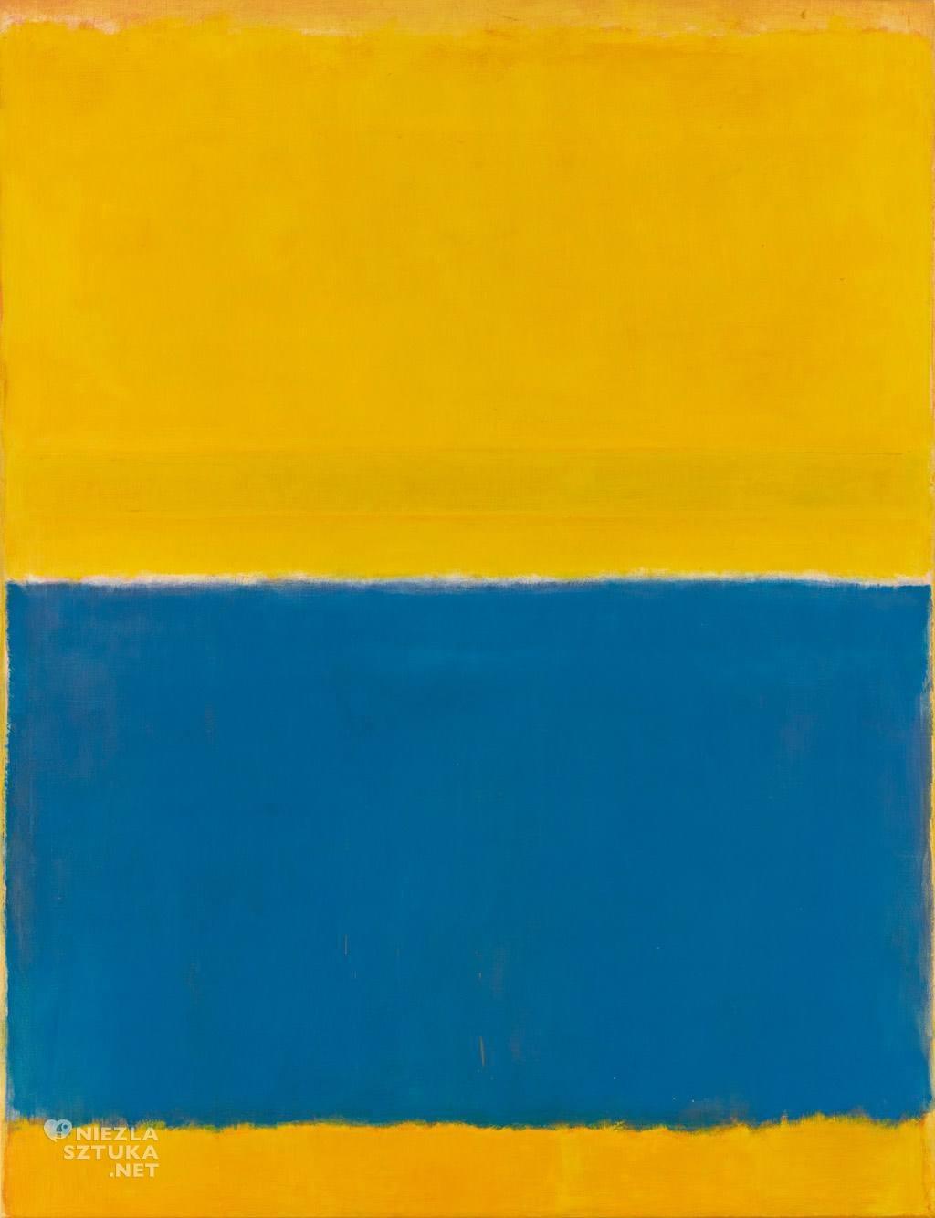 Mark Rothko Bez tytułu (Żółć i Błękit) | 1954, sothebys.com