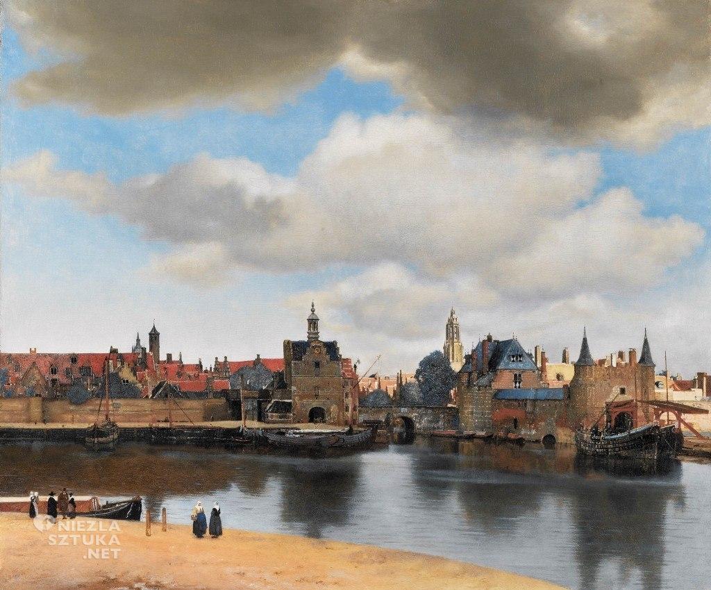 Johannes Vermeer, Widok Delft, Mauritshuis, Haga, Niezła sztuka