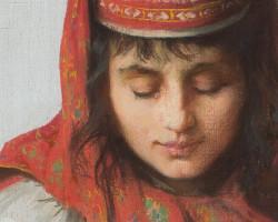 Anna Bilińska, Wieśniaczka z dzieckiem, sztuka polska, macierzyństwo, Niezła sztuka