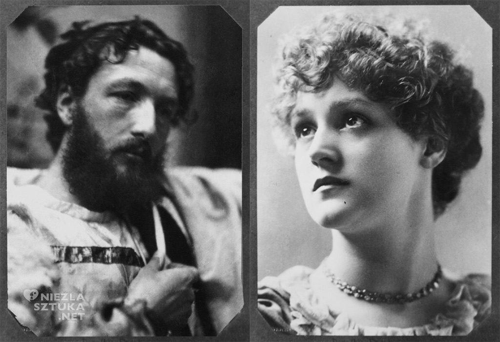 Frederic Leighton, Dorothy Dene, fotografia, modelka, Niezła sztuka