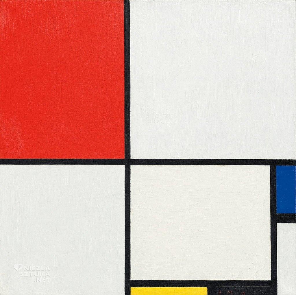 Piet Mondrian <em>Kompozycja Nr. III</em> (Kompozycja z Czerwonym, Niebieskim, Żółtym i Czarnym) | 1929, christies.com