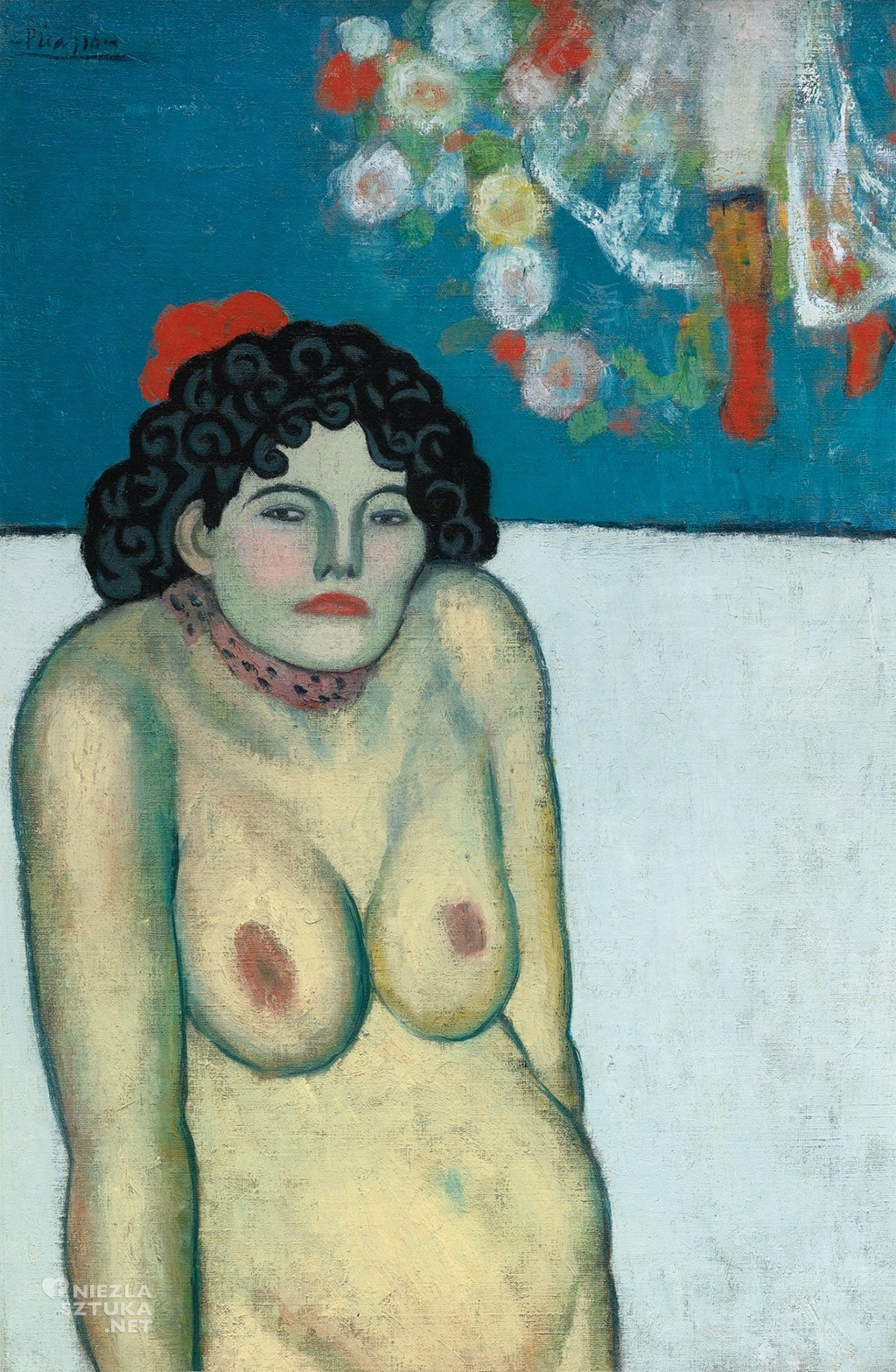 Pablo Picasso La Gommeuse | 1901, sothebys.com