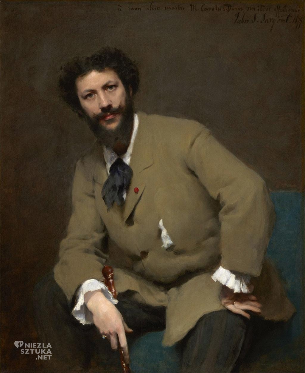 John Singer Sargent <em>Charles-Emile-Auguste Durand</em> | I879 <br /> olej na płótnie, 116,8 × 95,9 cm<br> Sterling and Francine Clark Art Institute, Williamstown, Mass