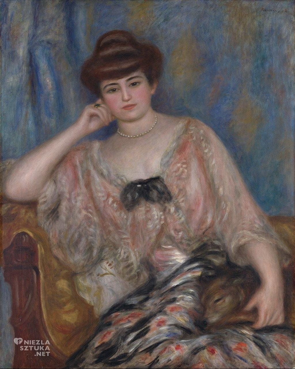 Pierre-Auguste Renoir <em>Misia Sert</em> | 1904, fot.: theredlist.com