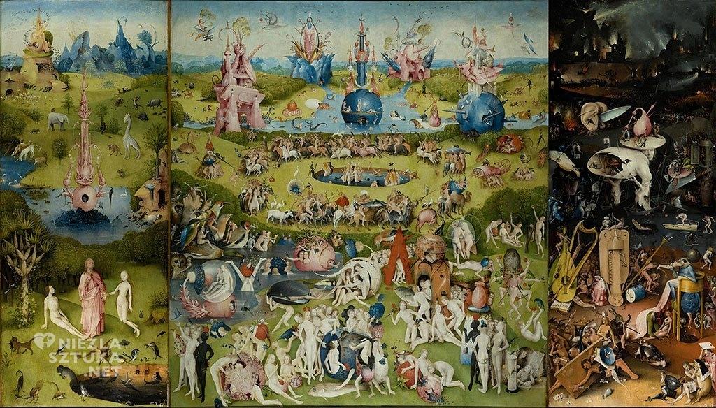 Hieronim Bosh, Ogród rozkoszy ziemskie, prymitywiści flamandzcy, malarstwo niderlandzkie, malarstwo wczesnego gotyku, Niezła sztuka