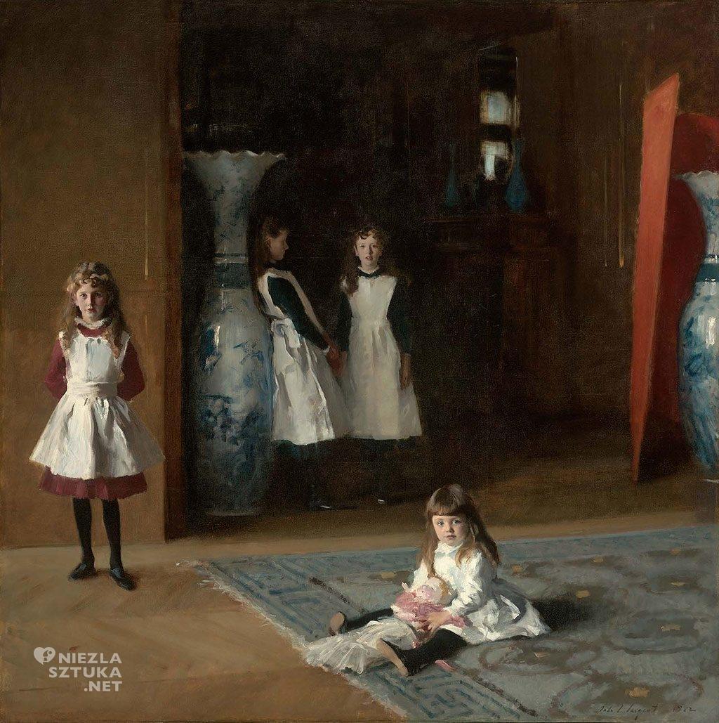 John Singer Sargent, Córki Edwarda Darleya Boita, Boston, Niezła sztuka