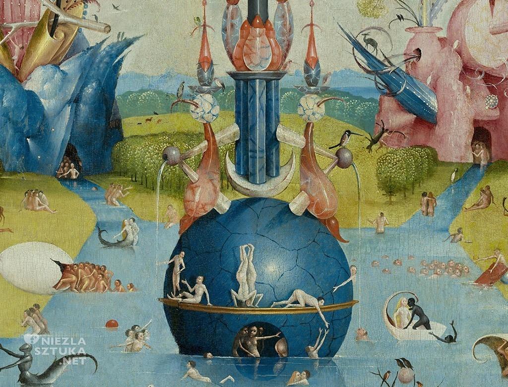 Hieronimus Bosh, Ogród rozkoszy ziemskich, malarstwo niderlandzkie, flamandzcy prymitywiści, malarstwo późnego gotyku, Niezła sztuka