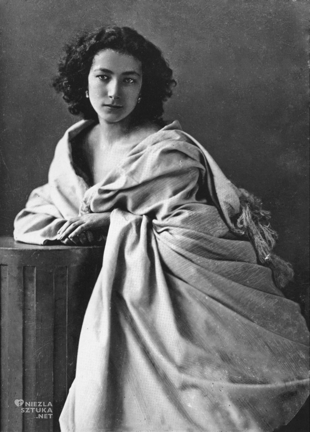 Félix Nadar Sarah Bernhardt