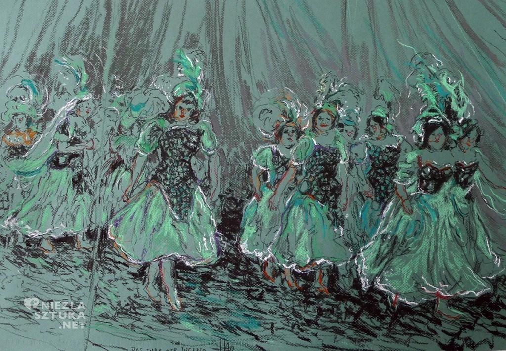 Das Ende der Jugend ,charcoal and pastel on paper, 40 x 65cm, 2012